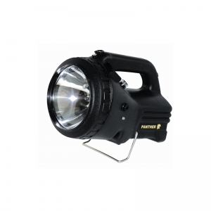 NightSearcher Panther Robust Rechargeable Searchlight Halogen 50W 1500lm & 20W 350lm