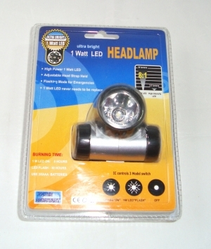 3 Mode LED Headlamp