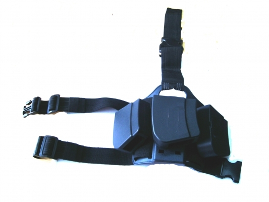 Leg Platform with 3 Kalasnikov Ammo Clip Holders