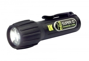 Underwater Kinetics Super Q eLED Rechargeable Flashlight