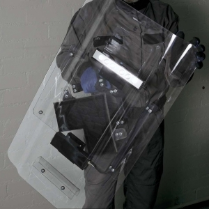 Mica Anti-Riot Shield with Lighting