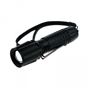 TTG CREE 3W LED Tactical Flashlight with Zoom