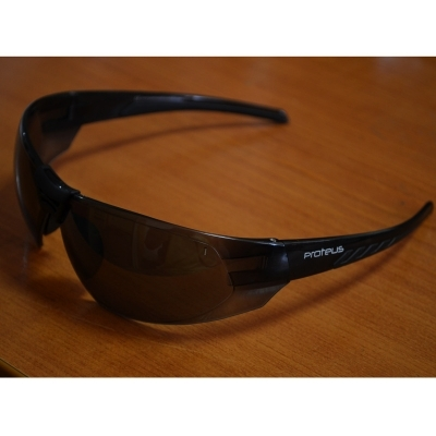 Proteus Shot Gun Z87 Black Protection Goggles