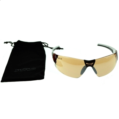 Proteus Shot Gun Z87 White/Yellow Protection Goggles