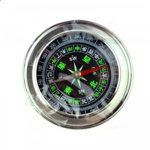 77mm Stainless Steel Compass