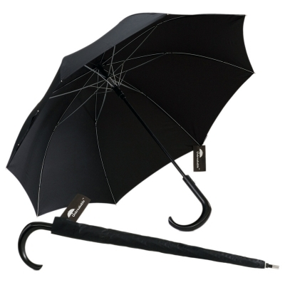 Unbreakable Walking Stick Umbrella Premium Curved